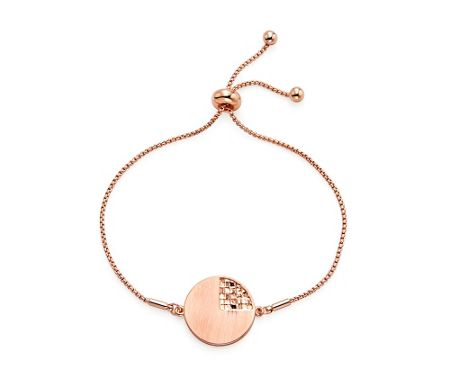 Kaytie Wu Rose Gold weaves Disc Bracelet