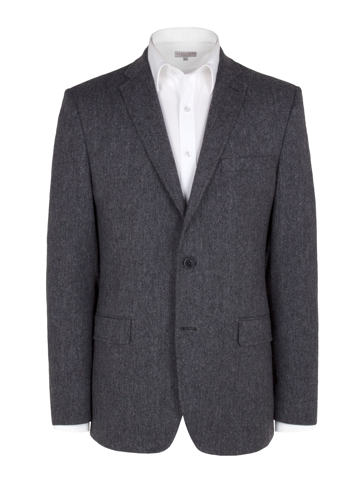 Grey donnegal blazer