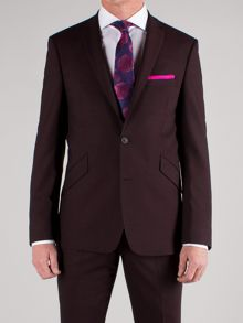 Alexandre of England Plum plain jacket