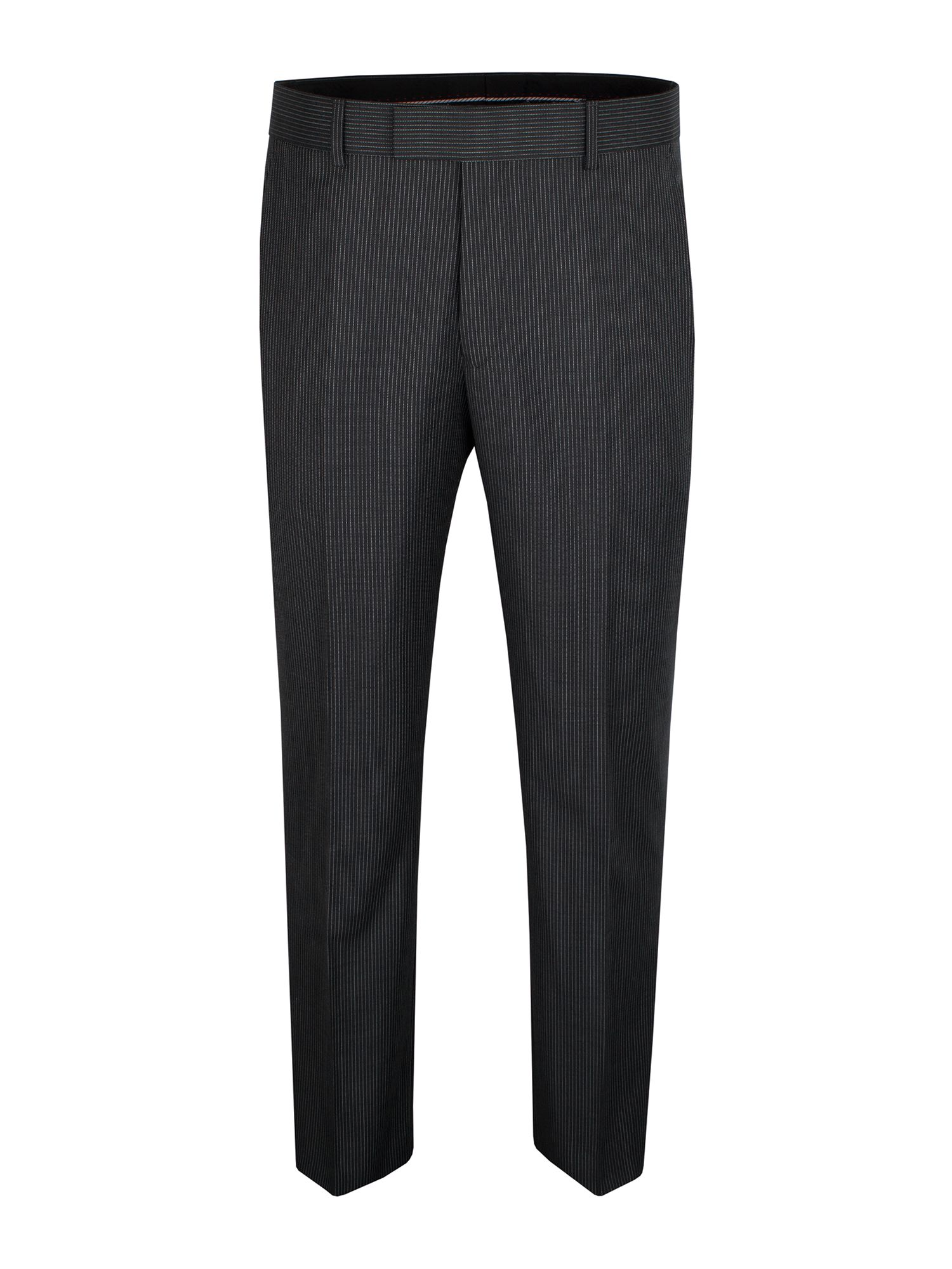 Charcoal narrow stripe trousers