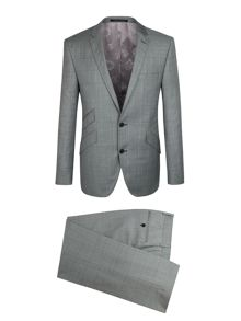 Checked 2 piece Suit