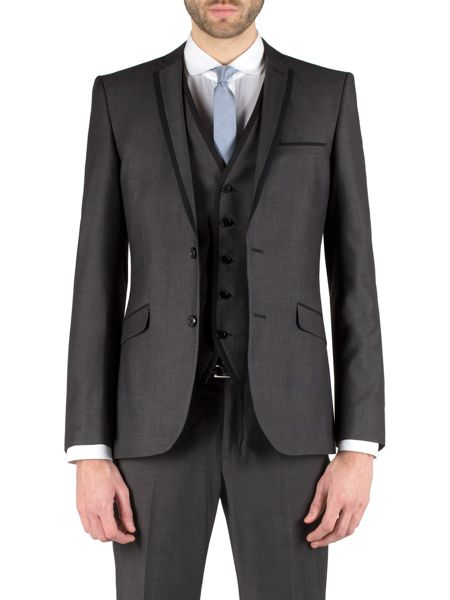 Limehaus Micro design single breasted suit jacket