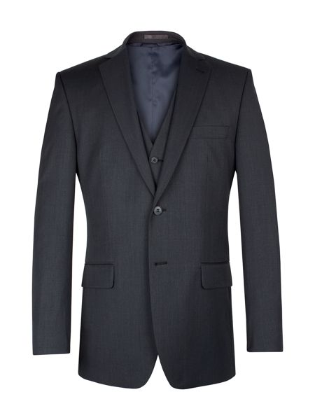 Racing Green Charcoal plain twill jacket