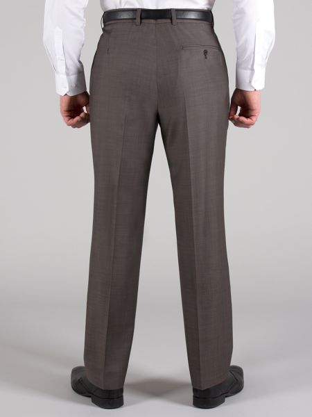 Racing Green Taupe tonic trousers