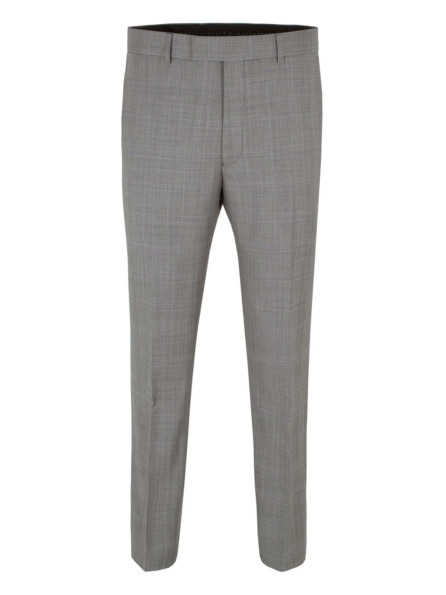Grey/lilac check trouser