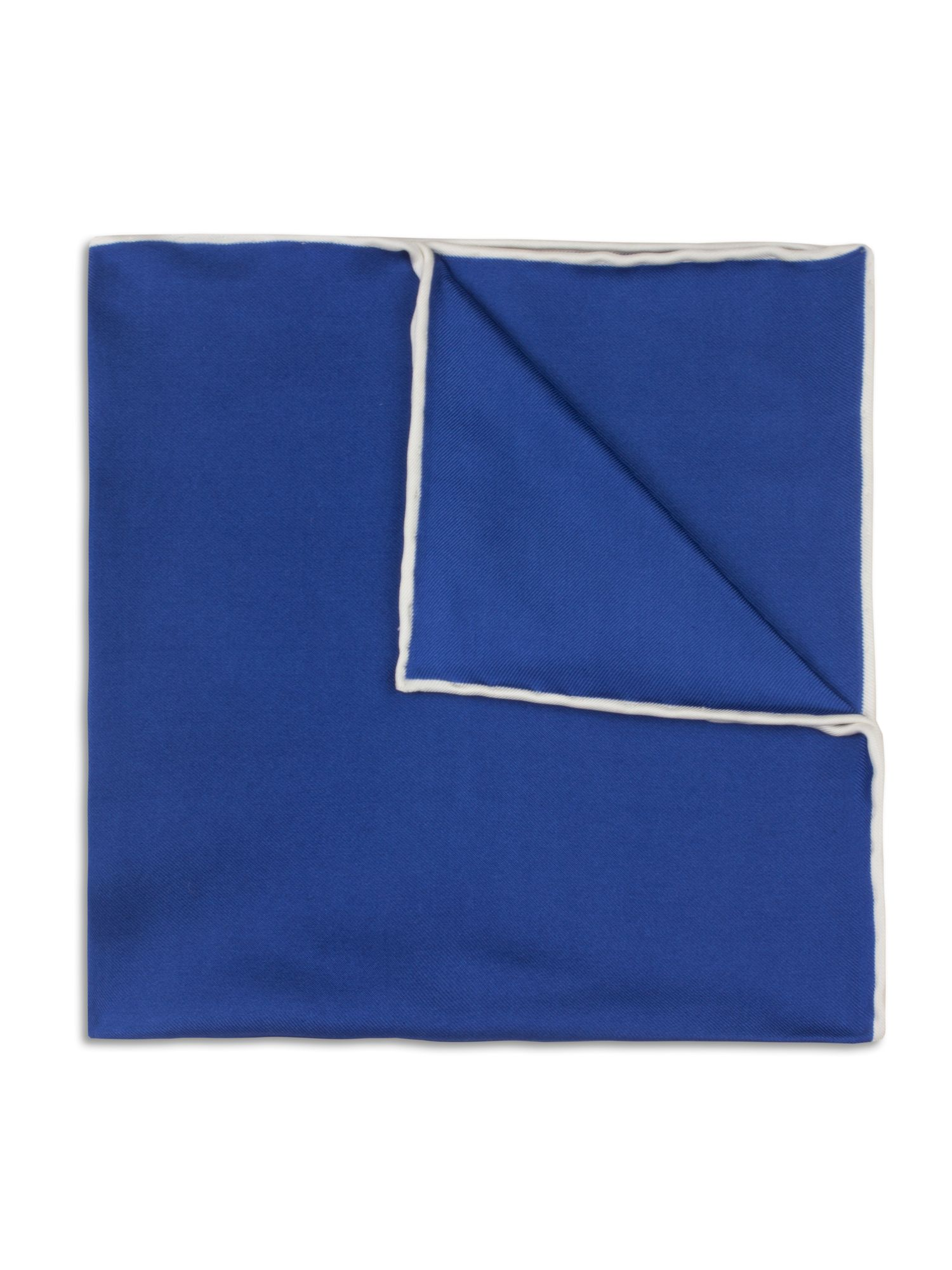 Navy hand rolled handkerchief