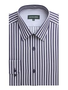 Racing Green Moorfields oxford stripe non iron shirt