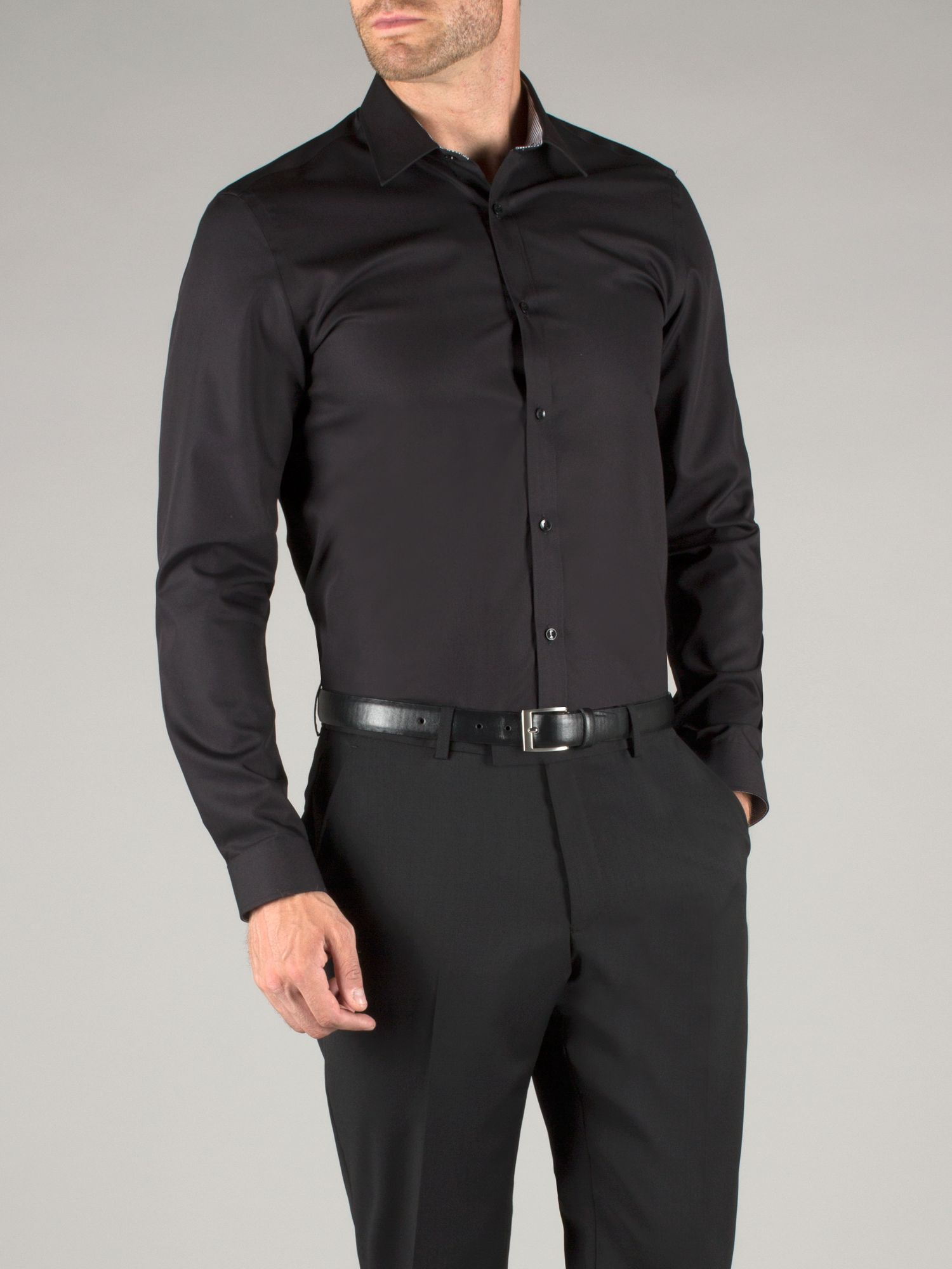 Fenchurch non iron poplin shirt
