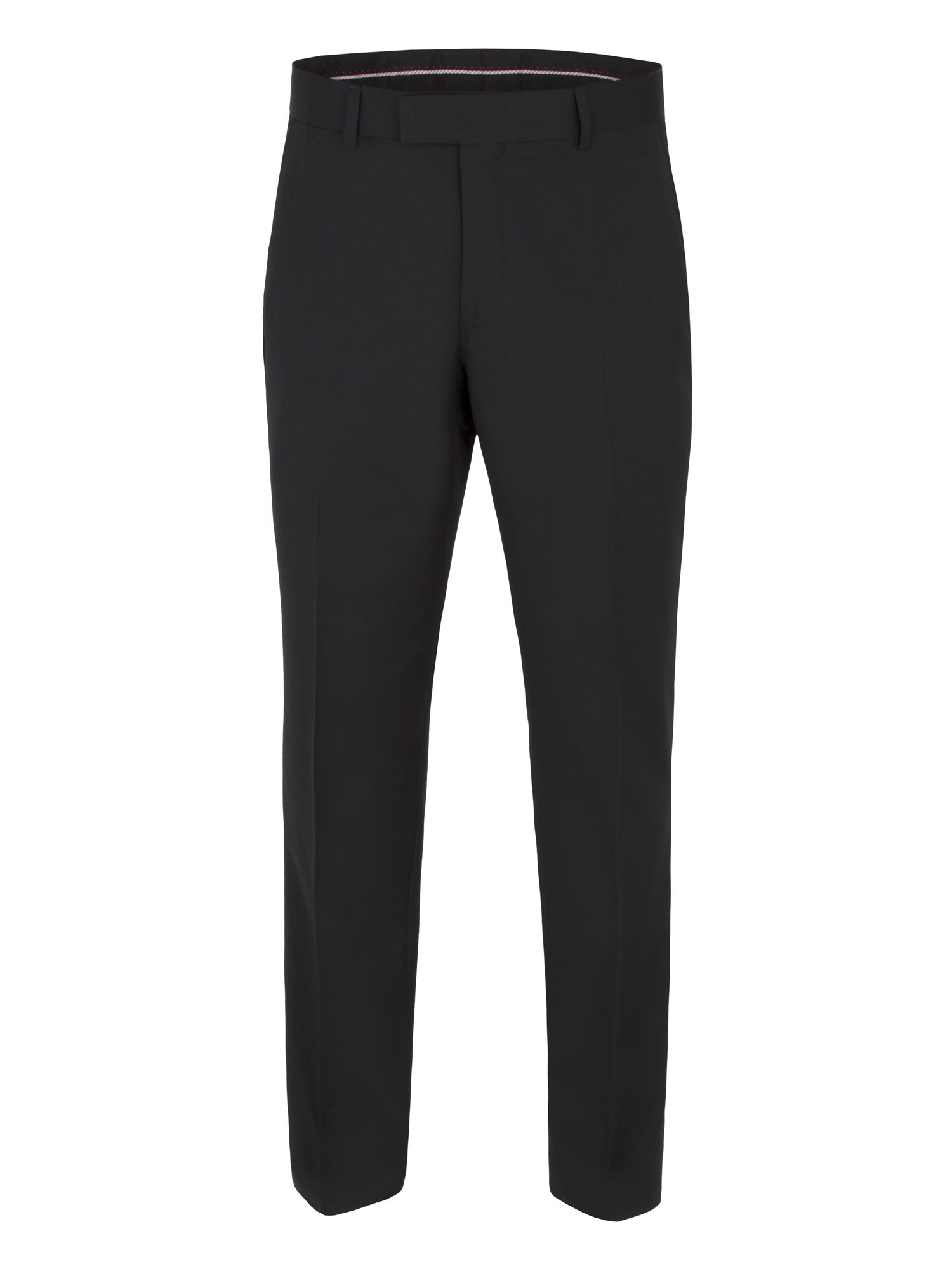 Plain black core trouser