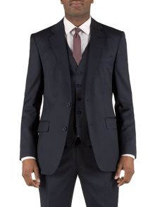 Plain navy wool jacket