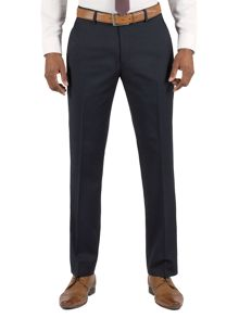 Plain navy wool Trousers