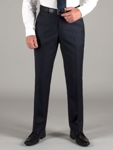 Alexandre of England Navy blue stripe trousers