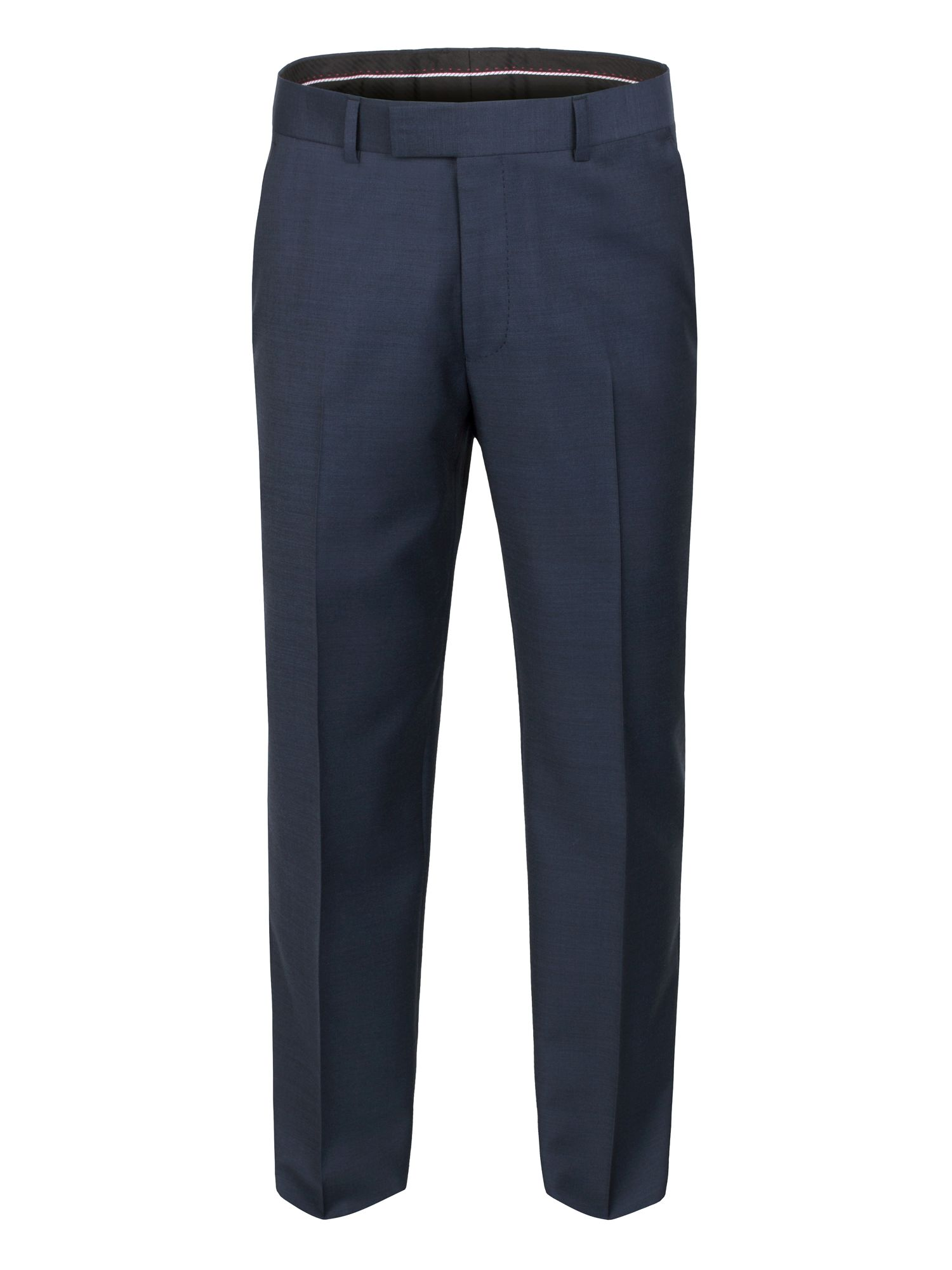 Blue sharkskin trouser