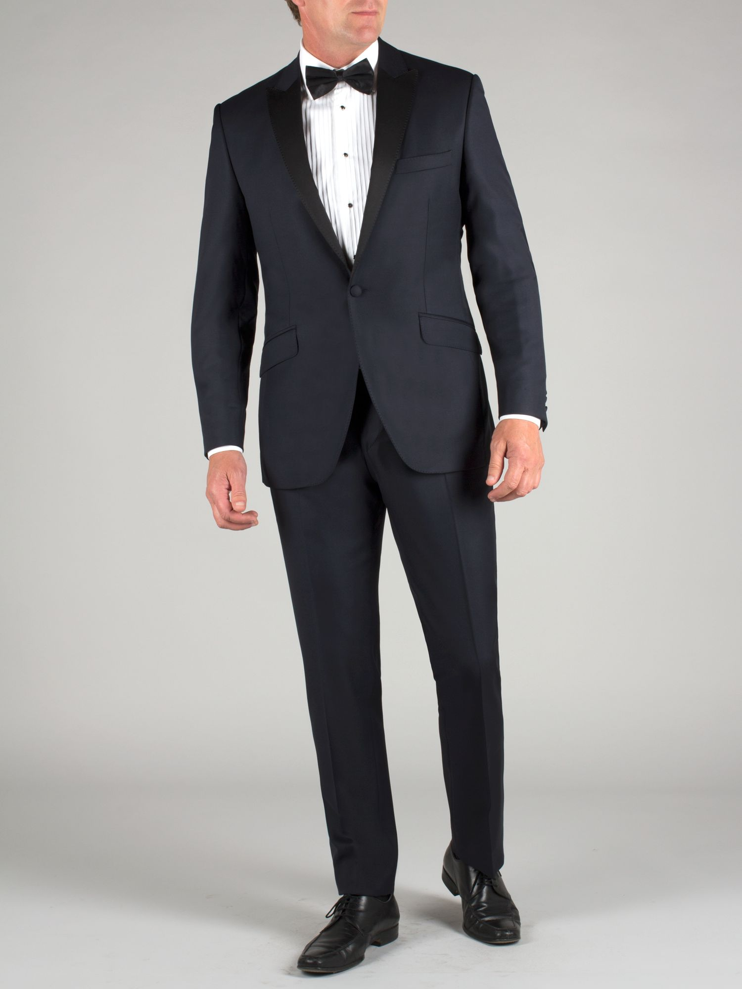 Midnight blue dresswear suit