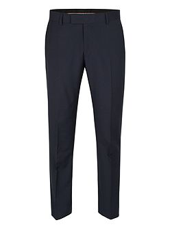 Blue Plain Weave Trousers