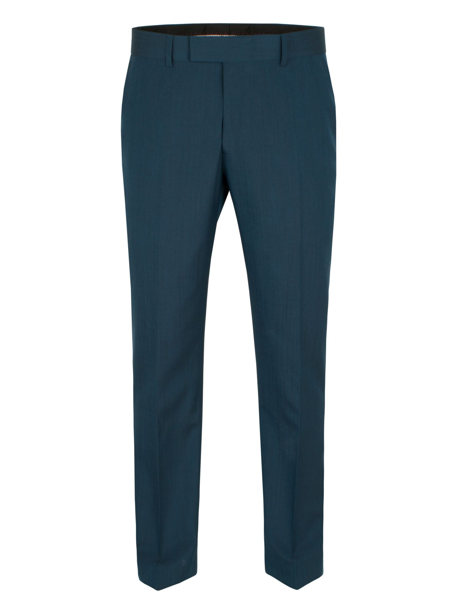 Teal tonic trouser