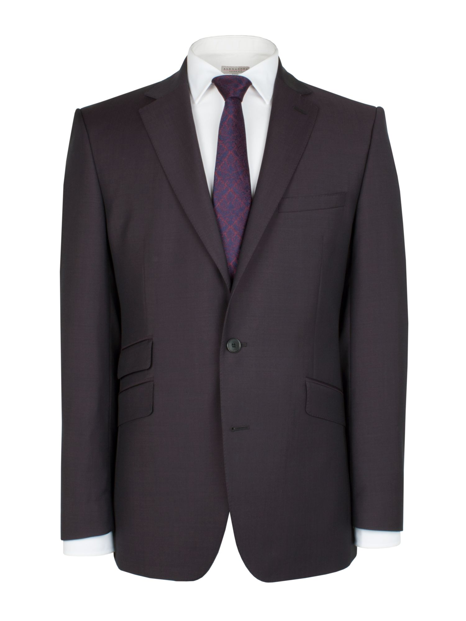 Aubergine tonic jacket