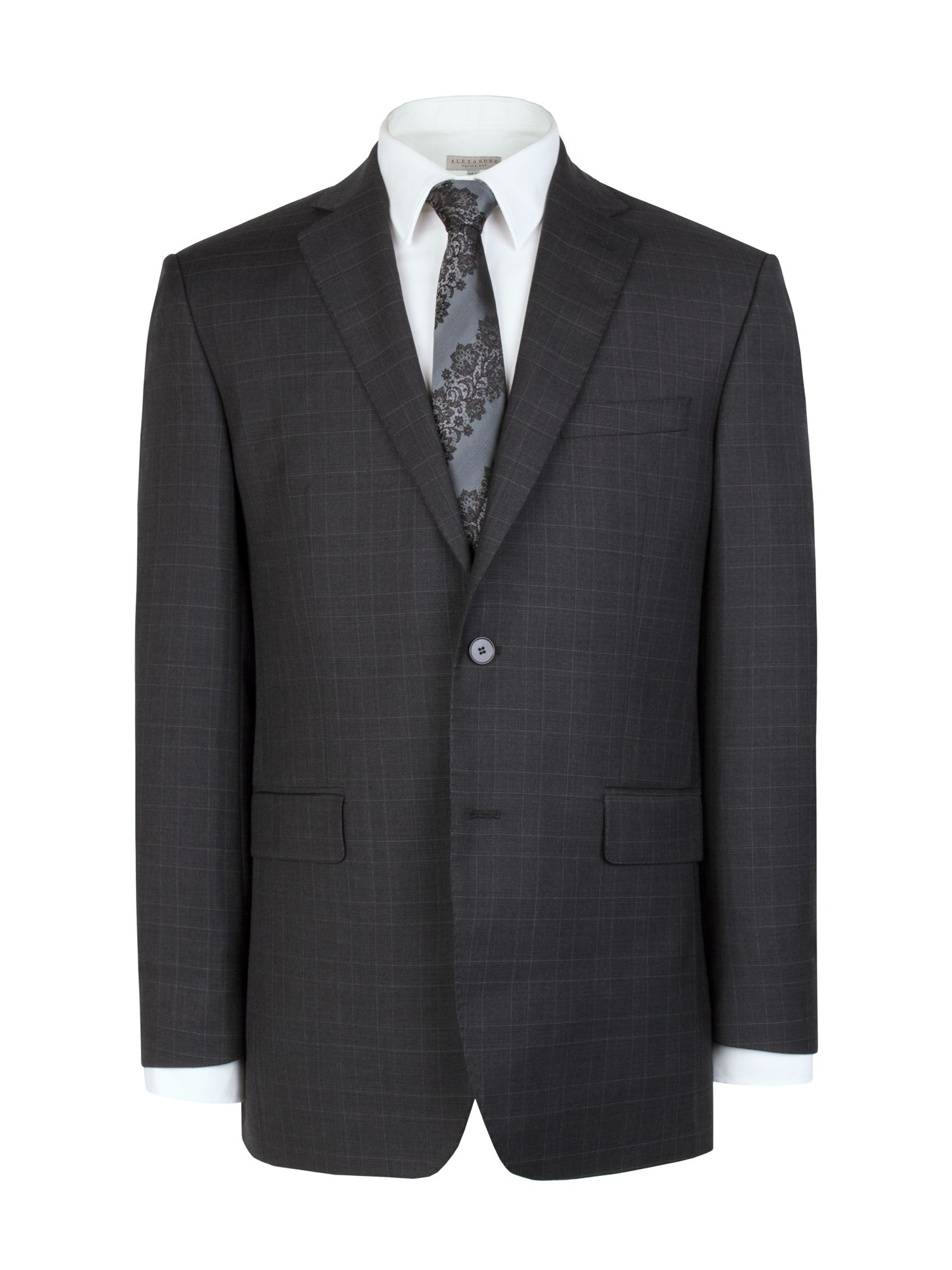 Dark grey check jacket