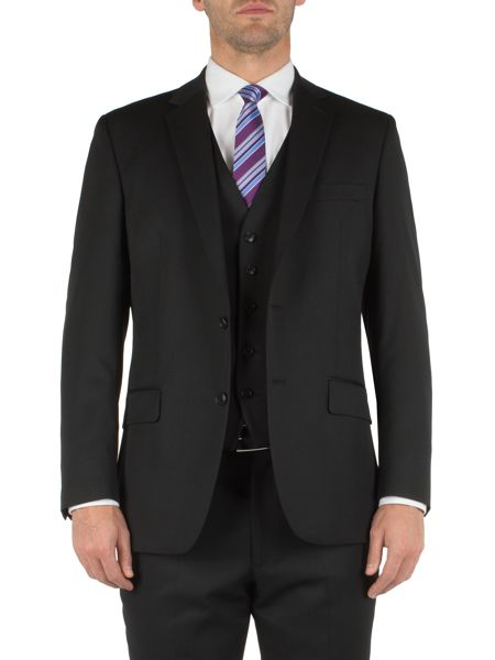 Pierre Cardin Black twill jacket