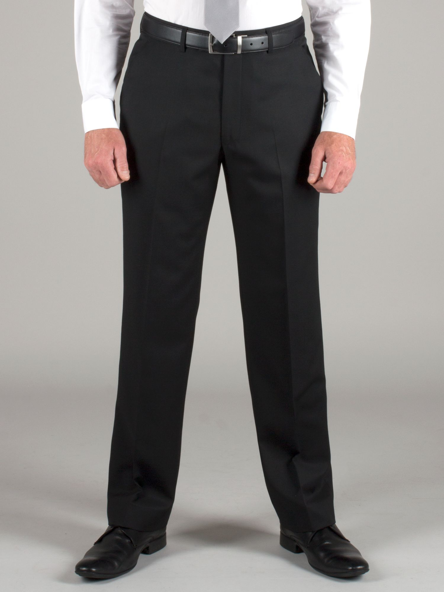 Black twill trouser