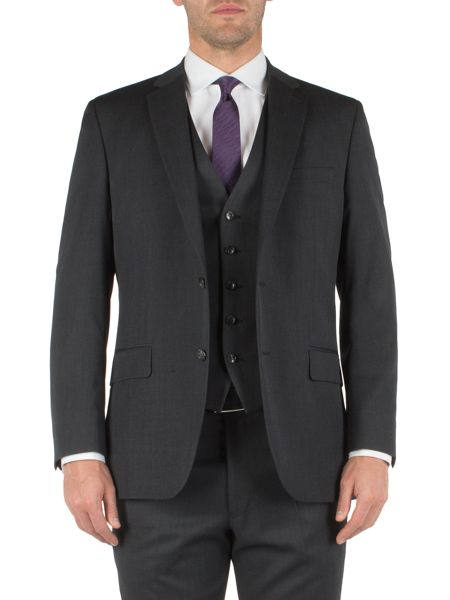 Pierre Cardin Twill single breasted suit jacket