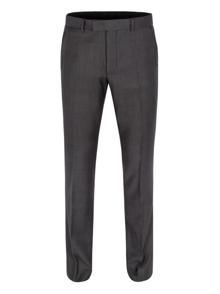 Limehaus Graphite twill formal suit trousers