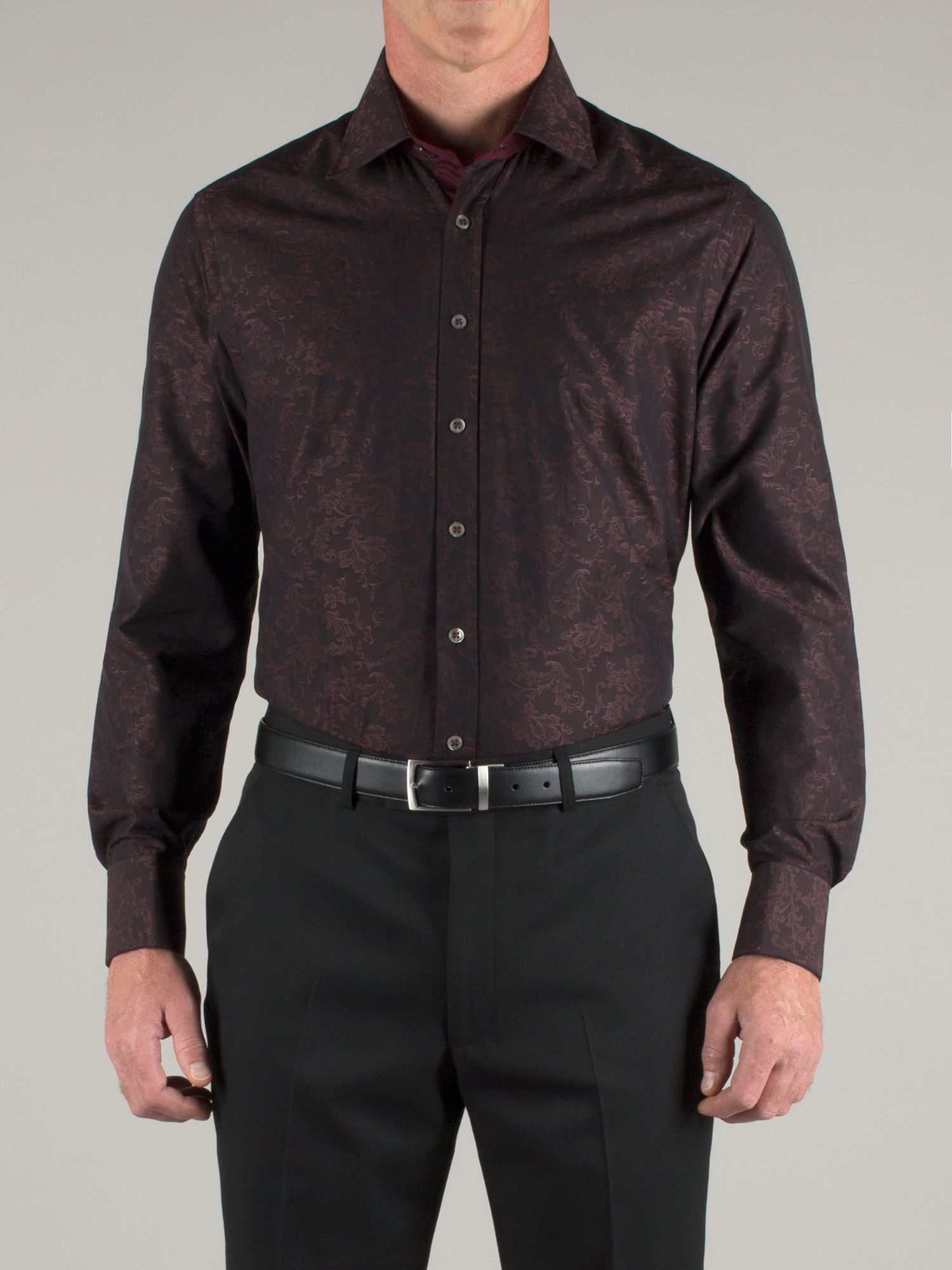 Ornate jacquard shirt