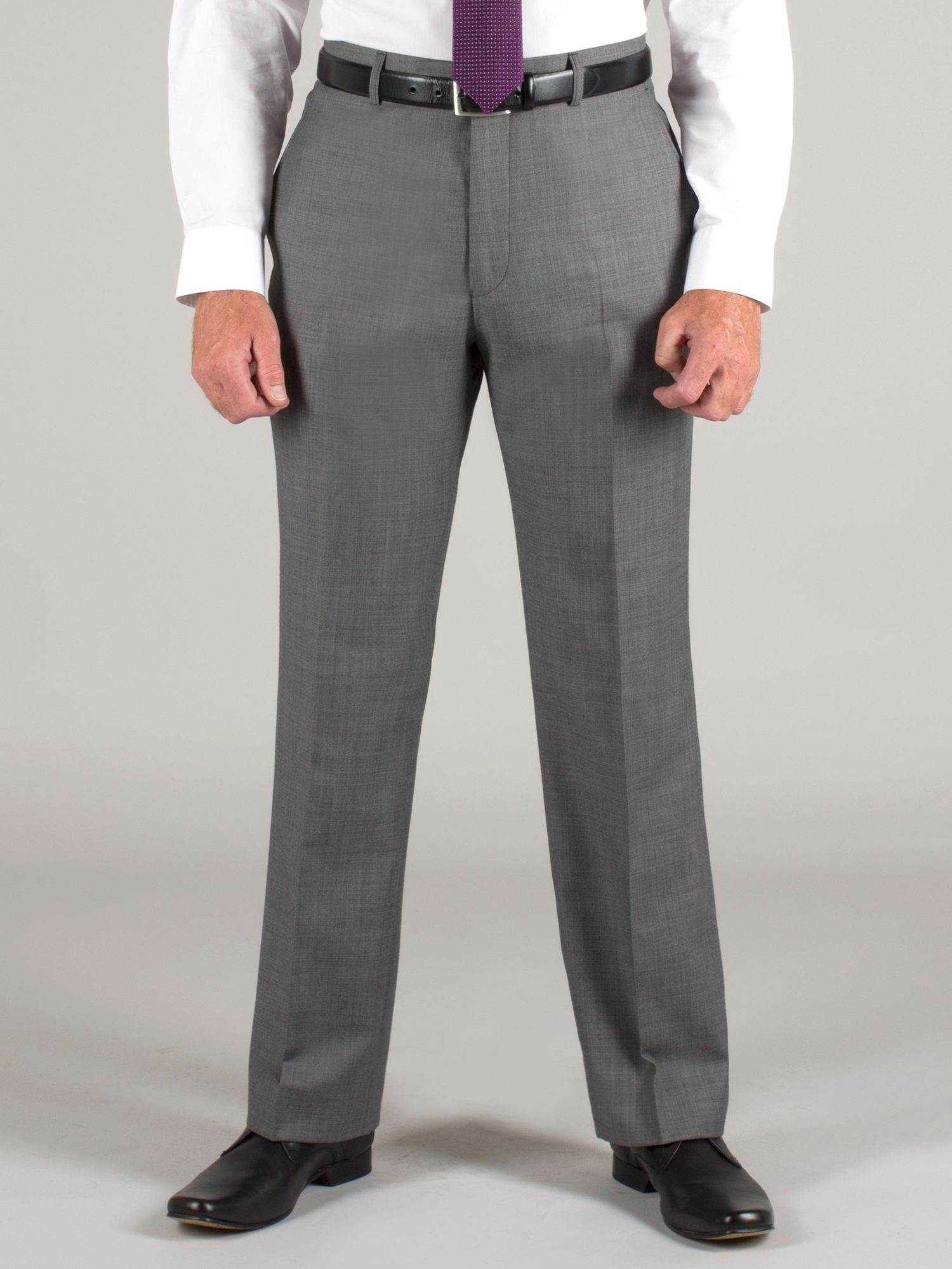 Grey sharkskin trouser