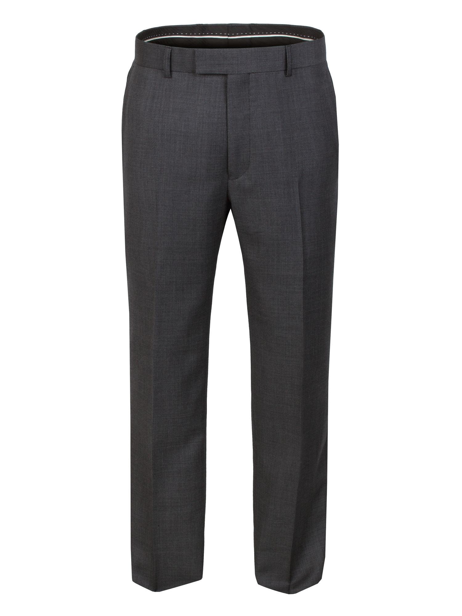Grey Birdseye Trouser
