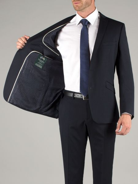 Racing Green Navy Wool Jacket