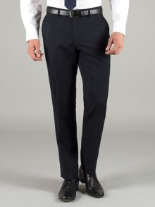 Racing Green Navy Wool Trousers