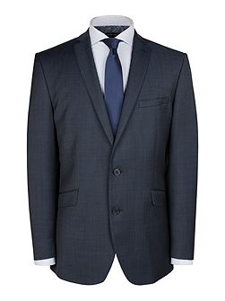 Blue sharkskin jacket