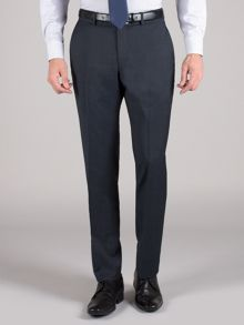 Racing Green Blue sharkskin trouser