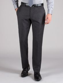 Charcoal flannel trouser