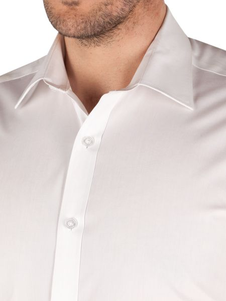Pierre Cardin Classic Fit Long Sleeve Classic Collar Shirt