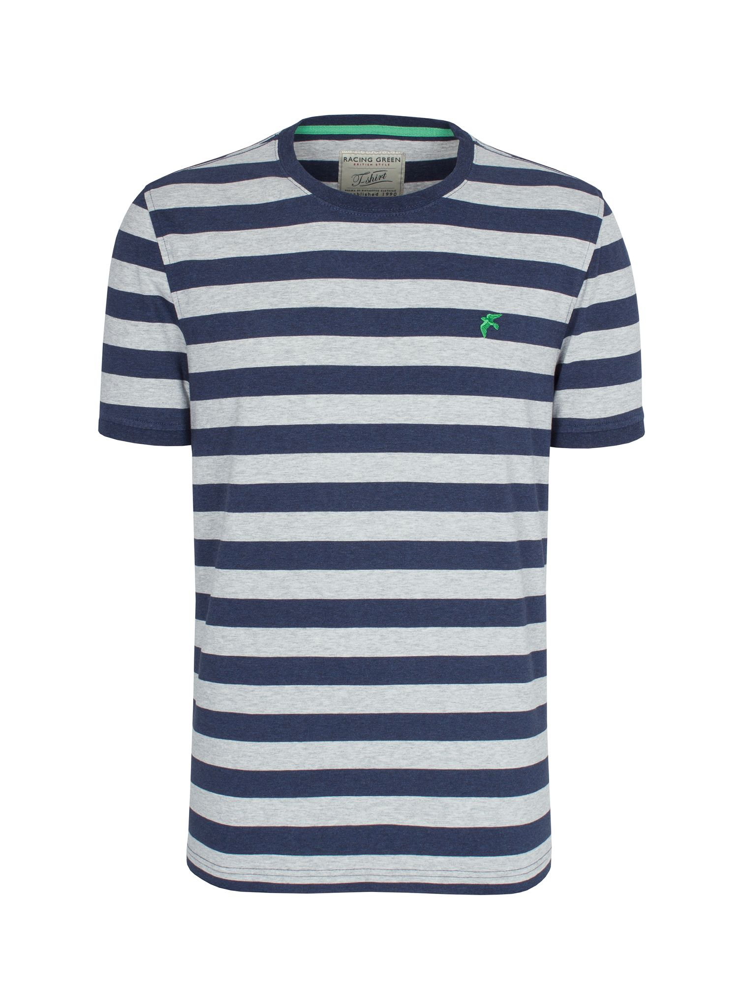 Marl stripe t-shirt