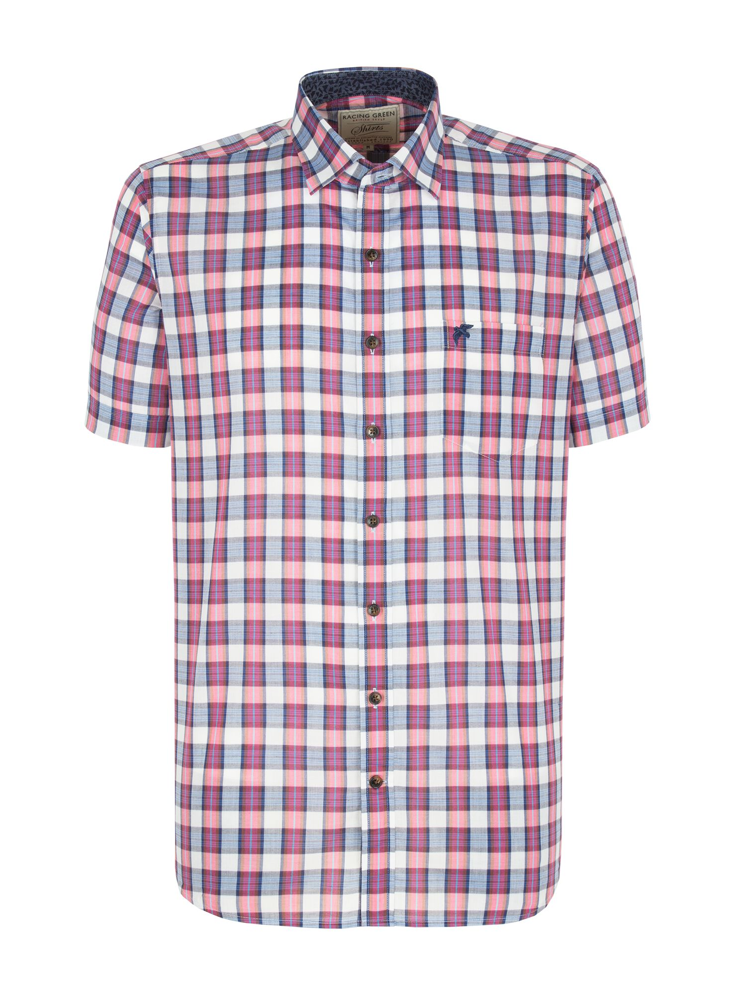 Beacon highlight check shirt