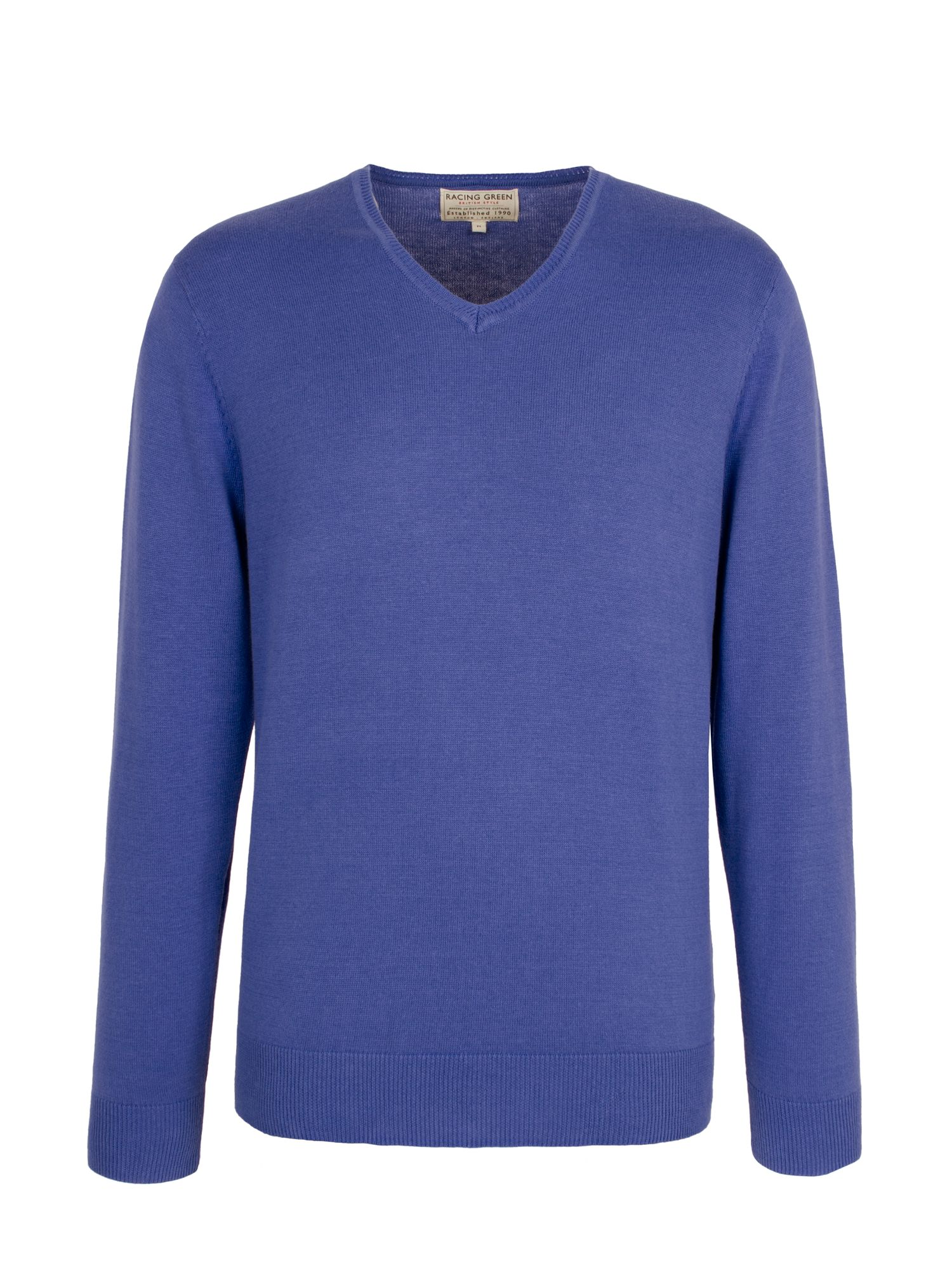 Henley v neck knit shirt