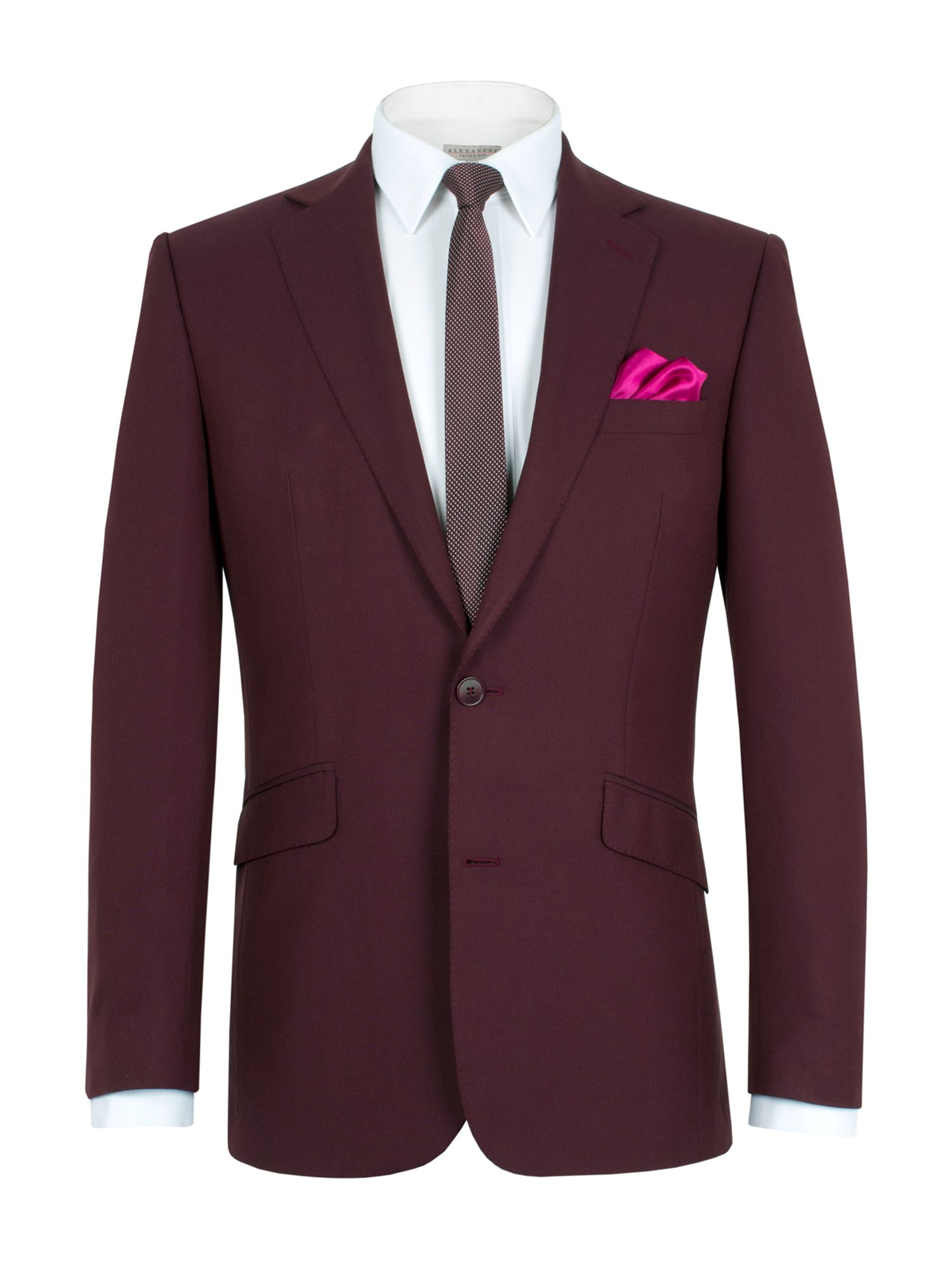 Tonic notch single breasted suit jacket