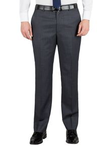 Stripe regular fit formal suit trouser