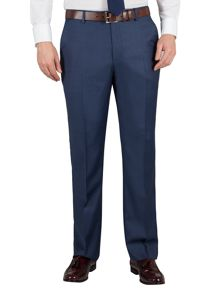 Alexandre of England Sharkskin regular fit formal suit trousers