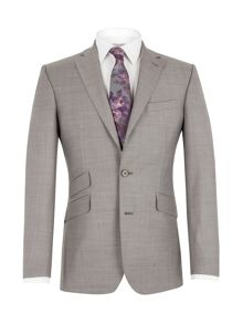 Notch lapel suit jacket