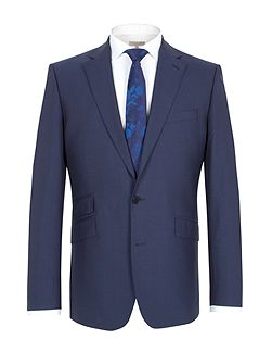 Plain notch lapel reg fit jacket