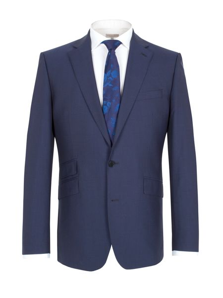 Alexandre of England Plain notch lapel reg fit jacket