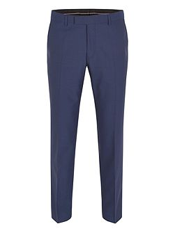 Plain regular fit trousers