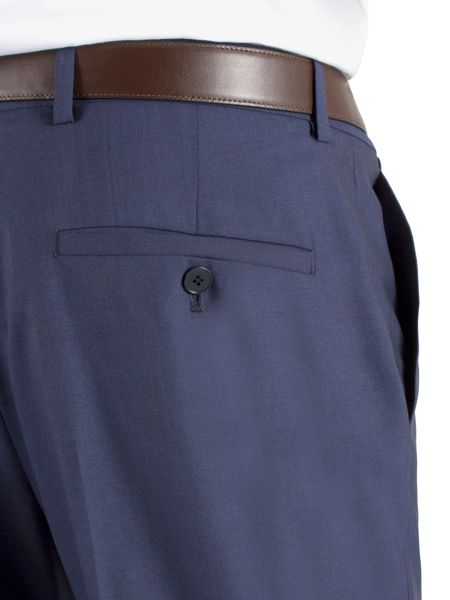 Alexandre of England Plain regular fit trousers