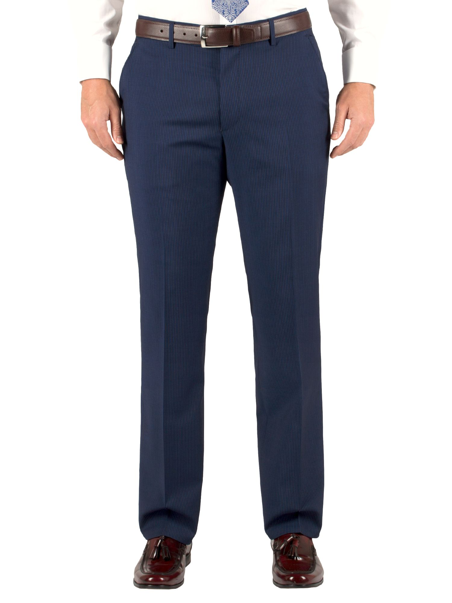 Stripe classic formal suit trousers