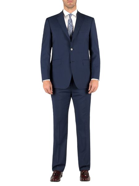 Alexandre of England Stripe classic formal suit trousers