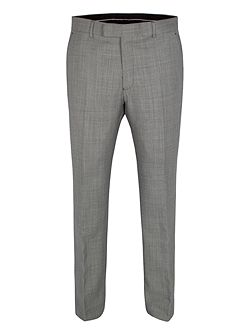 Birdseye regular fit formal suit trousers