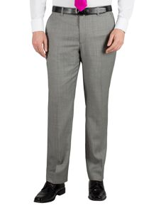 Birdseye regular fit formal suit trouser